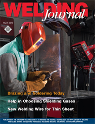 The Welding Journal Cover