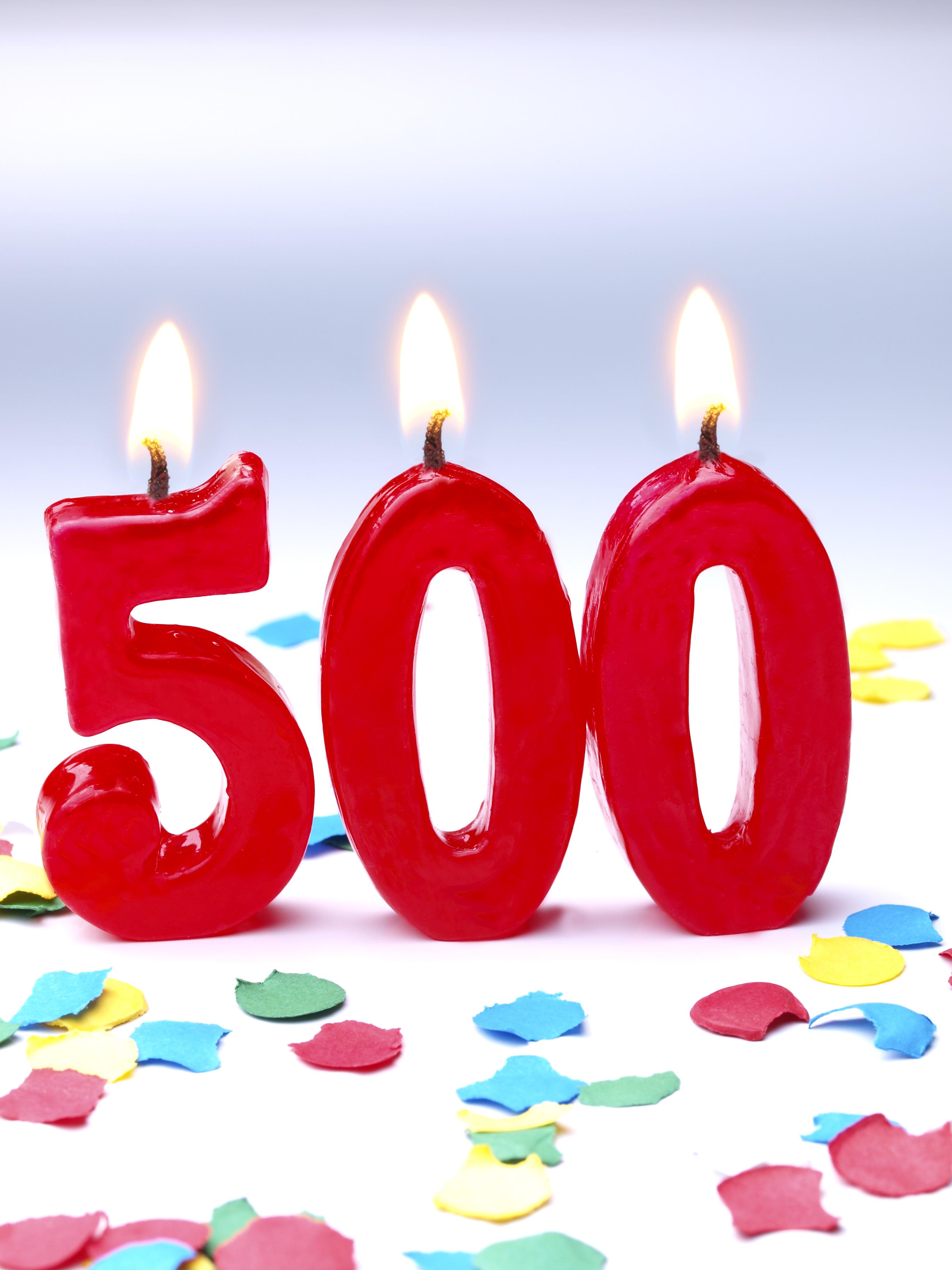 Седмица #500